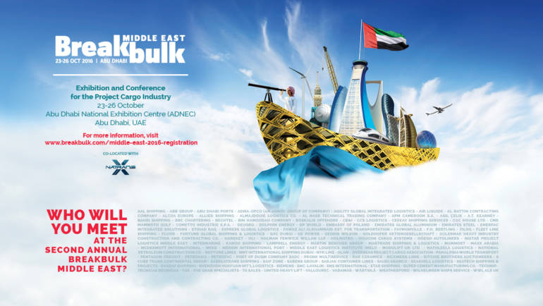 The Second Annual BREAKBULK MIDDLE EAST 2016